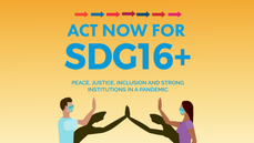 Act Now for SDG16+ –Peace, justice, inclusion and strong institutions in a pandemic (November 2020)