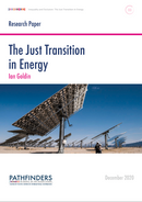 The Just Transition in Energy