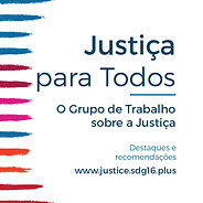 Justice for All: Highlights and Policy Recommendations (Portuguese)