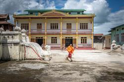 Monk in Myanmar - Ultreia Travel