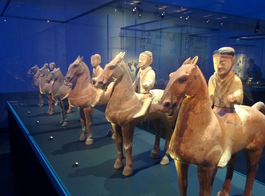 Les chevaux de Ferghana