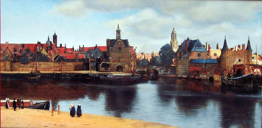 Vermeer, Vue de Delft
