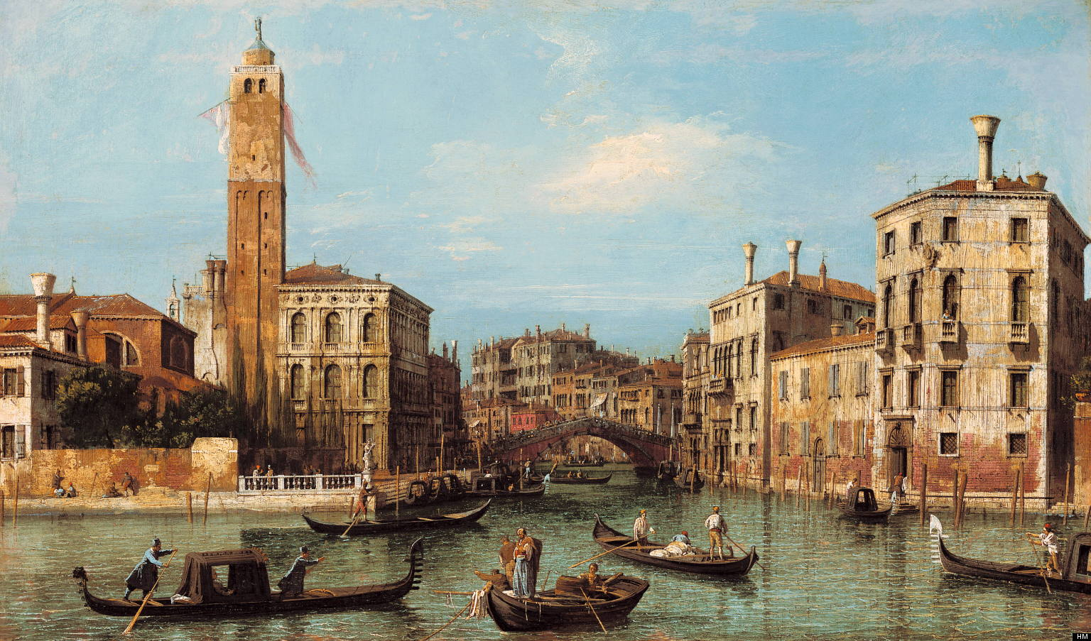 Canaletto, Place Saint Marc