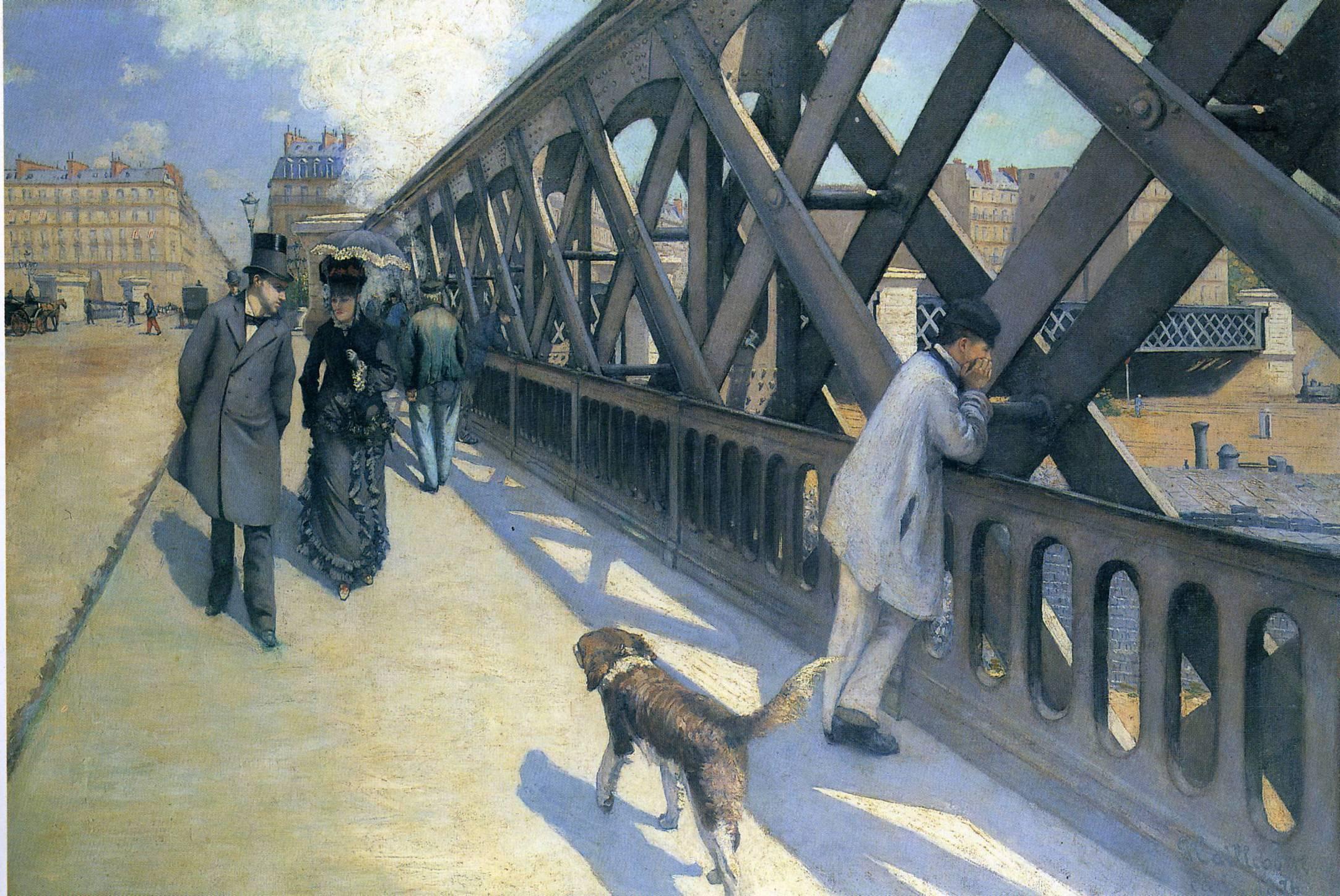 Caillebotte, Le pont de l'Europe