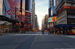 Voyages à New York - Time square