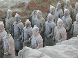Voyages en Chine - Soldats de Xian
