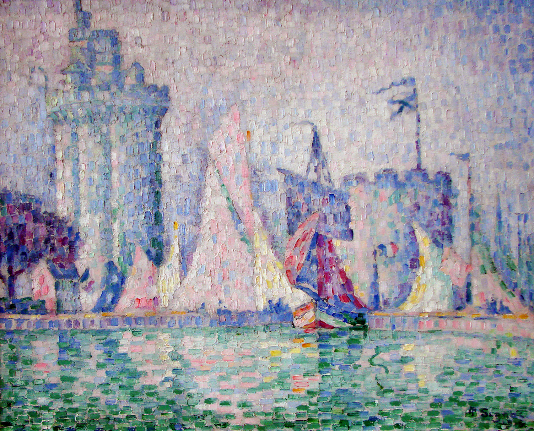 Le_port_de_la_Rochelle_Signac_Nancy