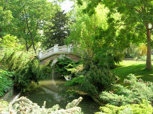 Visite des Parcs et jardins parisiens