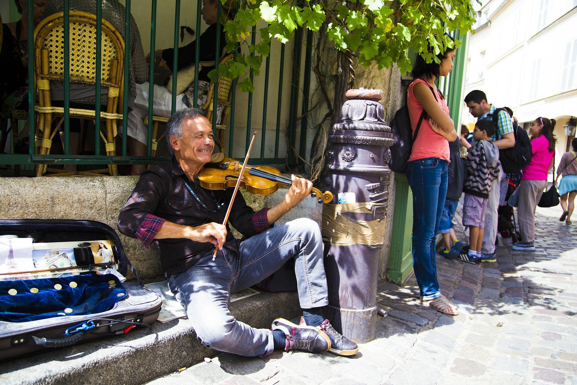 Paris, Le violoniste de Montmartre