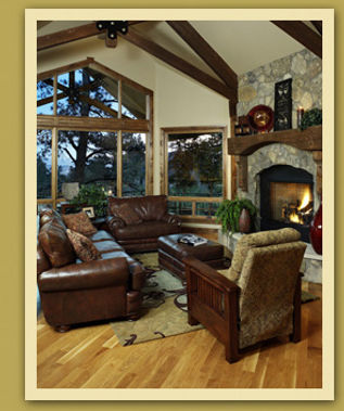 A Great Room by Providence Builders