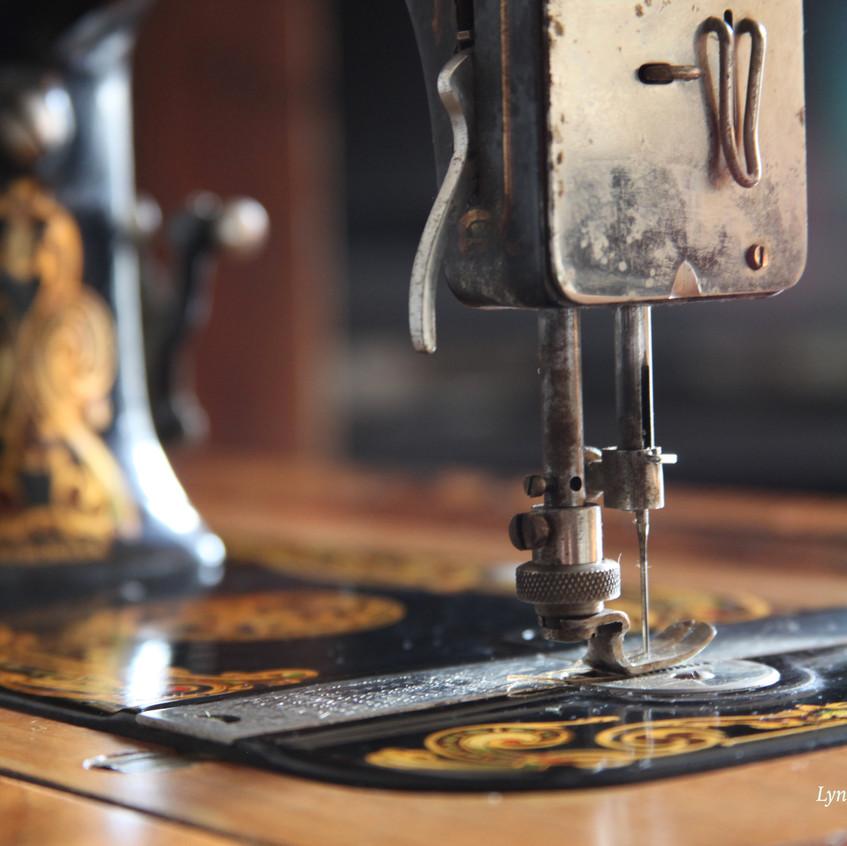 Nostalgia ...Vintage Neva treadle sewing machine