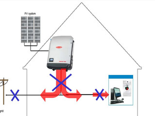Como funcionam os sistemas de energia solar fotovoltaica em caso de queda de energia?