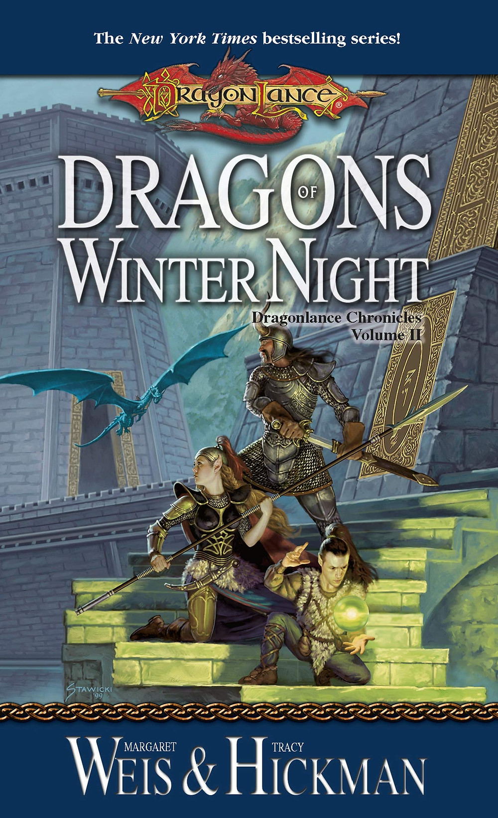 Dragons of Winter Night by Margaret Weis and Tracy Hickman