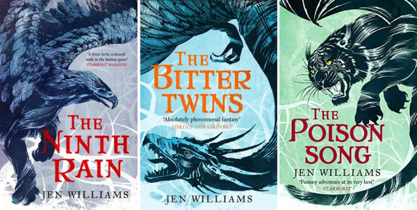 Top 5 | The Winnowing Flame Trilogy by Jen Williams | Book Talk