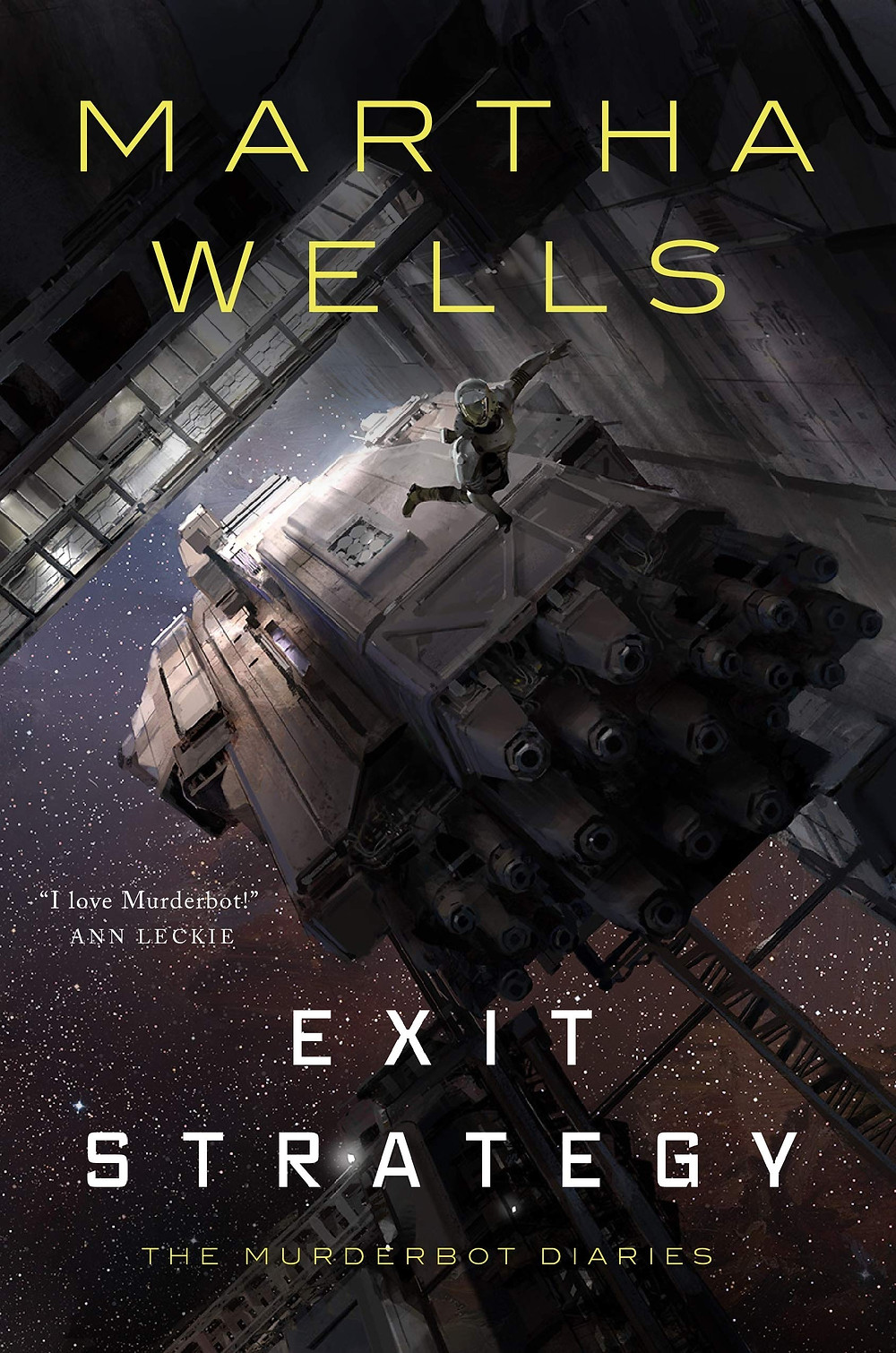 Exit Strategy by Martha Wells | Book Review