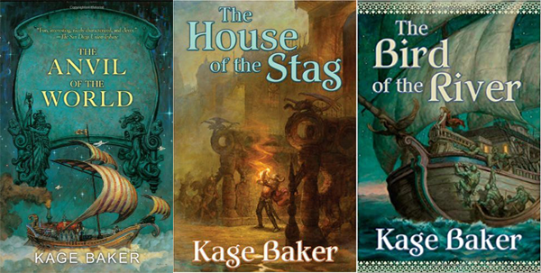 Behind the Pages | The Anvil of the World Trilogy by Kage Baker | Top 5