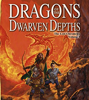 Dragons of the Dwarven Depths by Margaret Weis and Tracy Hickman | Book Review