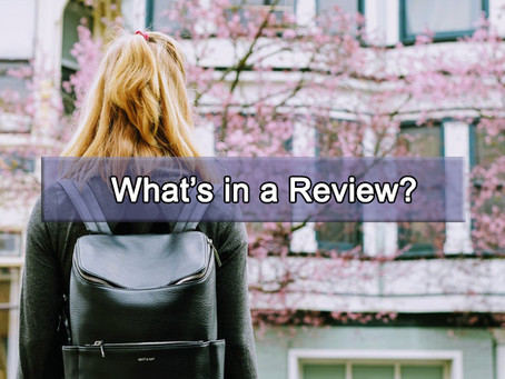 What's in a Review? | Book Talk