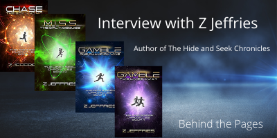 Interview with Z Jeffries Author of The Hide and Seek Chronicles