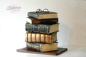 Book Stack Cake | Book Talk