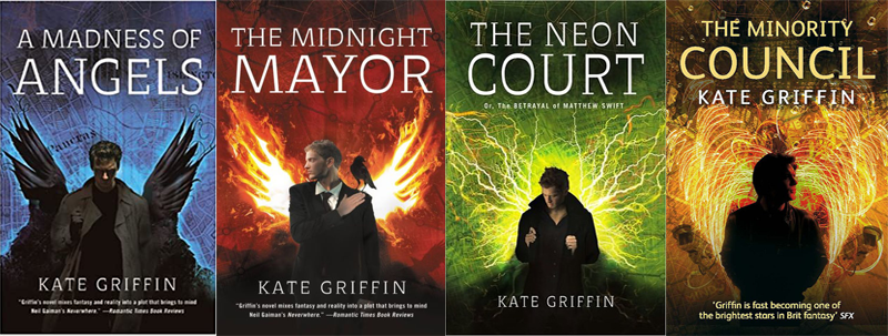 Matthew Swift Series by Kate Griffin | Top 5