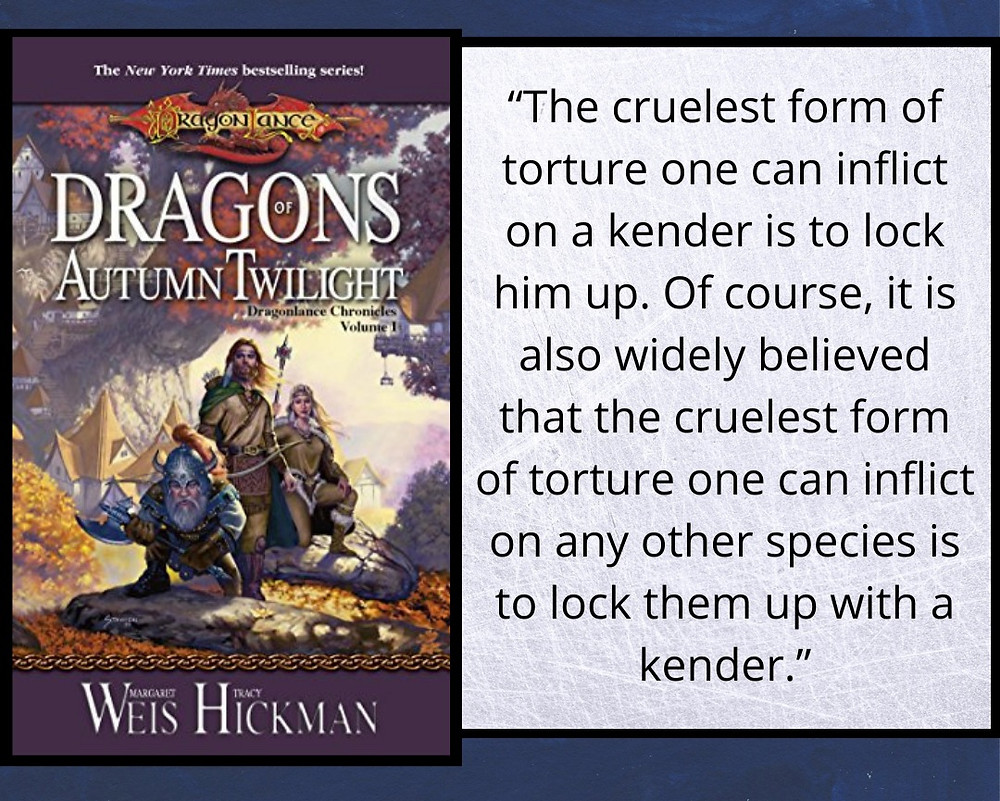 Behind the Pages | Dragons of Autumn Twilight Quote | Top 5