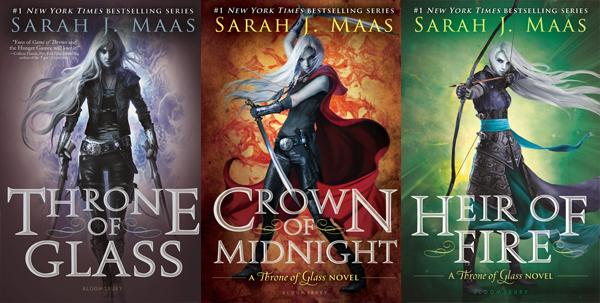 Throne of Glass Series by Sarah J. Maas | Top 5