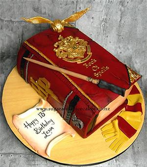 Harry Potter Cake | Book Talk