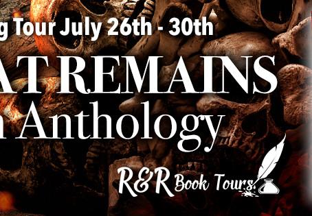 What Remains Anthology   Blog Tour