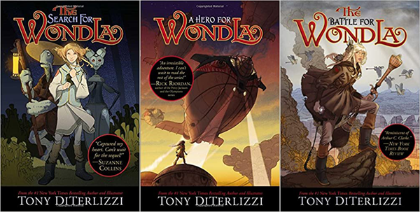 The WondLa Trilogy by Tony DiTerlizzi | Top 5