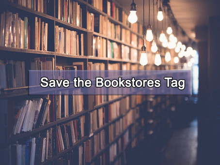 Save the Bookstores Tag | Book Talk