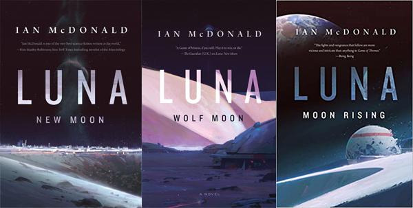 The Luna Trilogy by Ian McDonald | Top 5