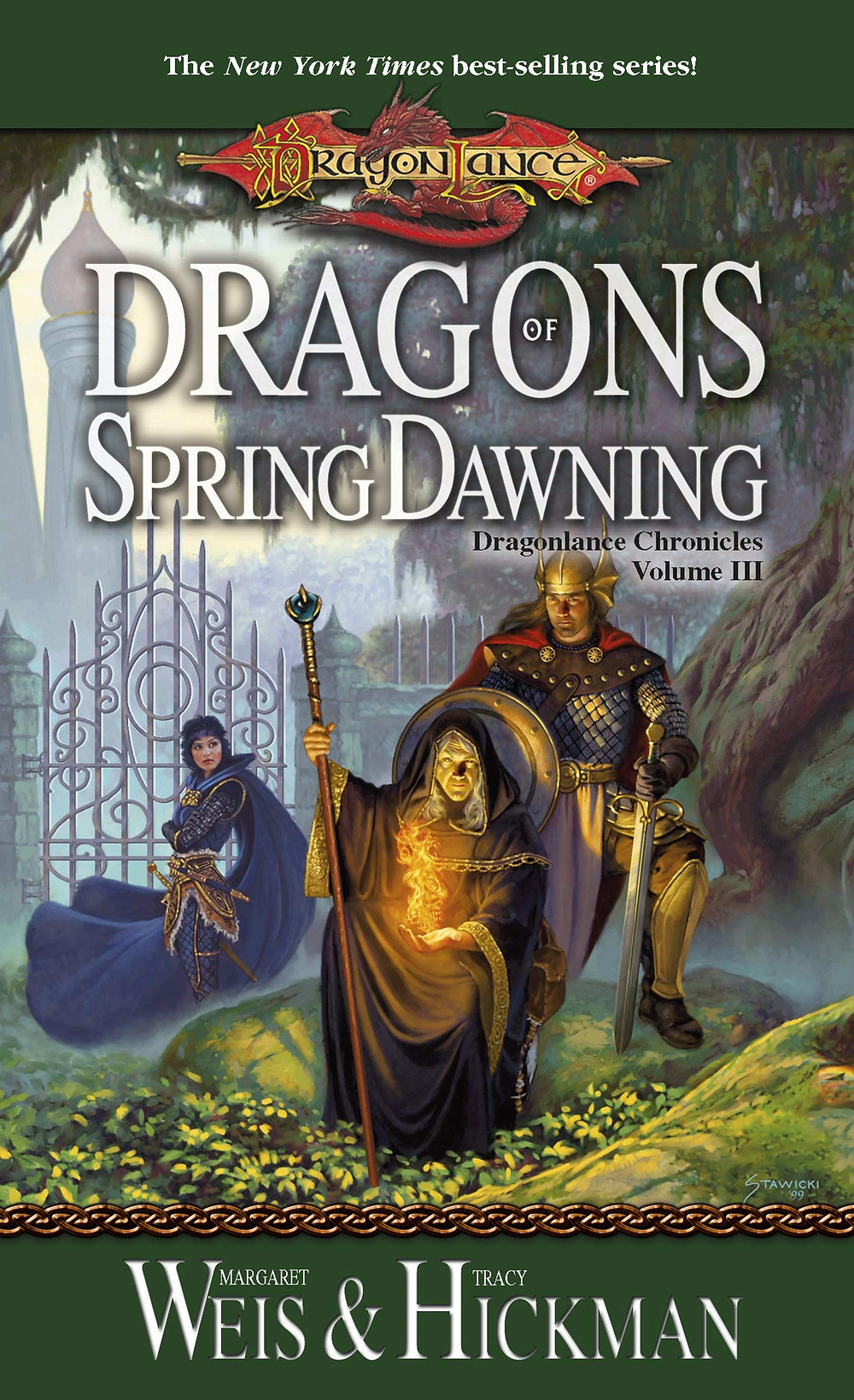 Book Review - Dragons of Spring Dawning by Margaret Weis and Tracy Hickman
