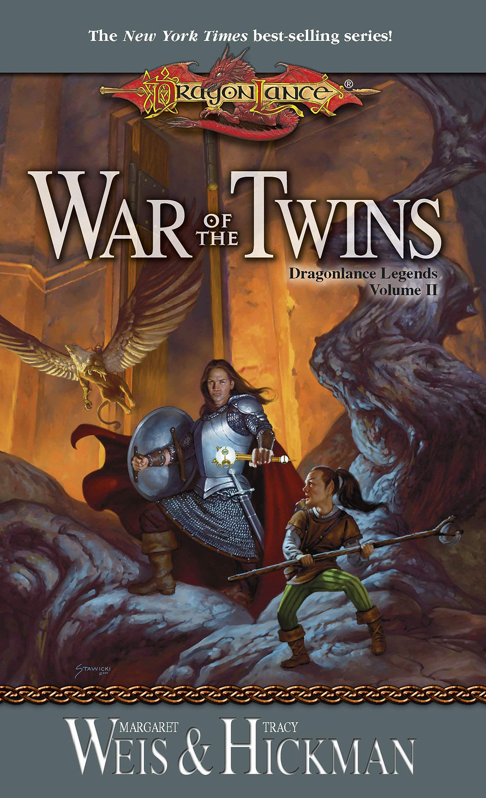 War of the Twins By Margaret Weis and Tracy Hickman | Book Review