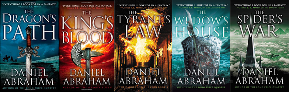 The Dagger and Coin Series by Daniel Abraham | Top 5