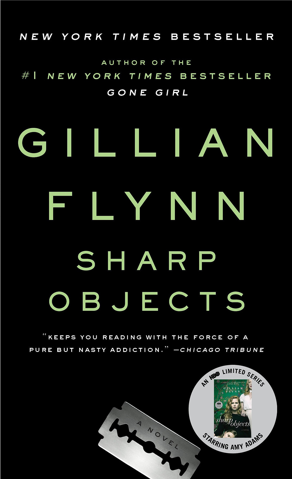 Book Review of Sharp Objects by Gillian Flynn