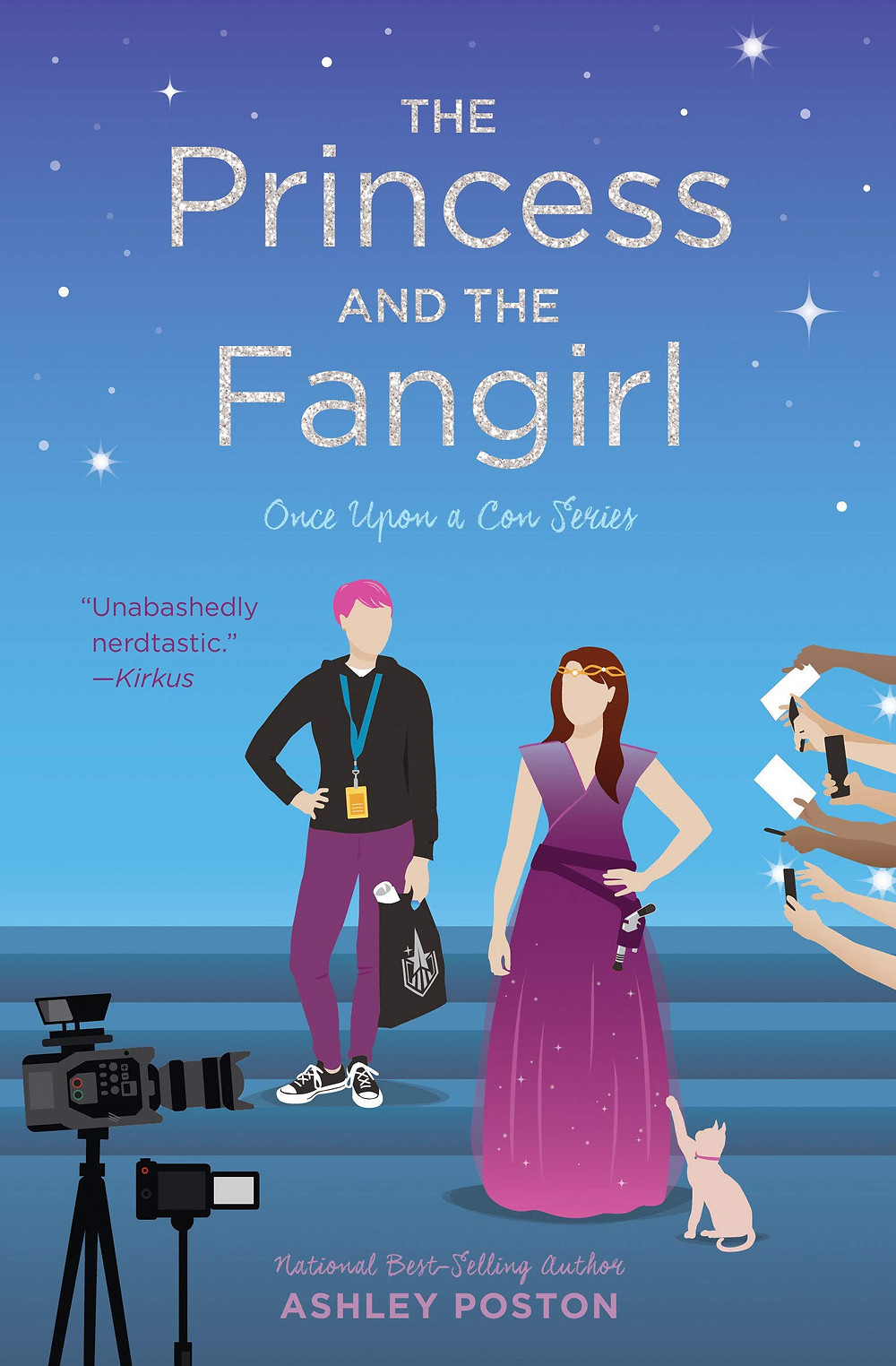 Book Review  - The Princess and the Fangirl by Ashley Poston
