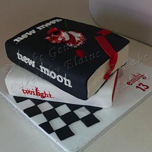 Twilight Book Cake | Book Talk