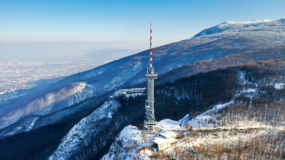 wide-angle-shot-satellite-tower-mountain