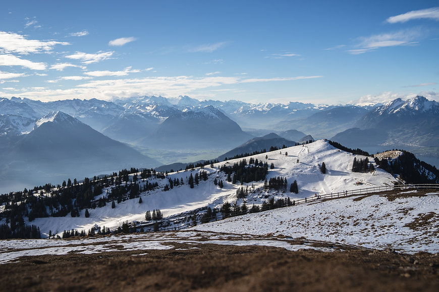 panoramic-shot-of-the-rigi-mountains-in-