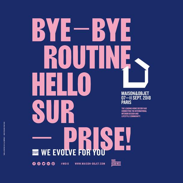 メゾン・エ・オブジェ・パリ2018年9月展開催及び事前登録のご案内