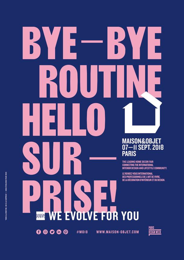 MAISON&OBJET2018年9月展                  シャトルバスについてのご注意!