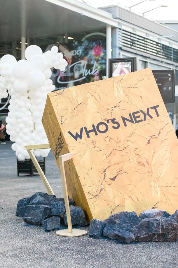WHO'S NEXT開催終了のお知らせ