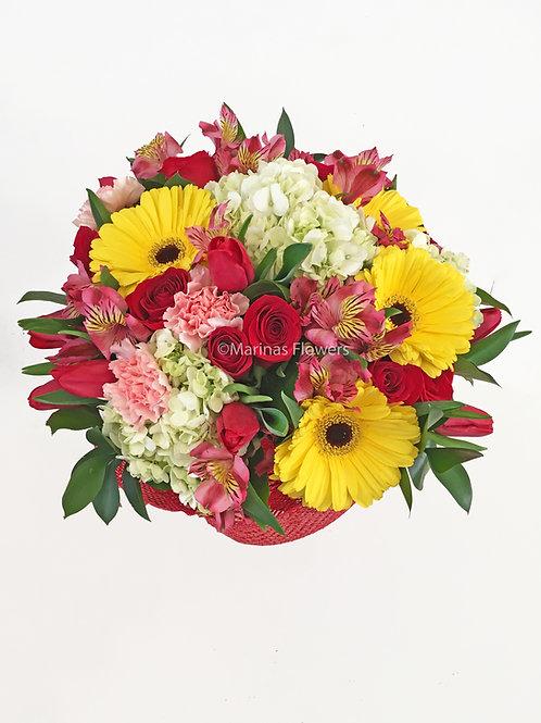 Mix Color Hand-Held Bouquet
