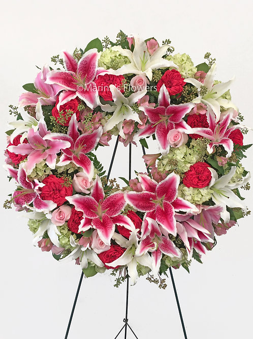 Lily Galore Wreath