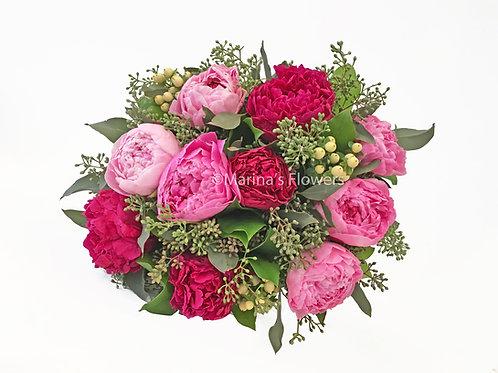 Peony Hand-Held Bouquet