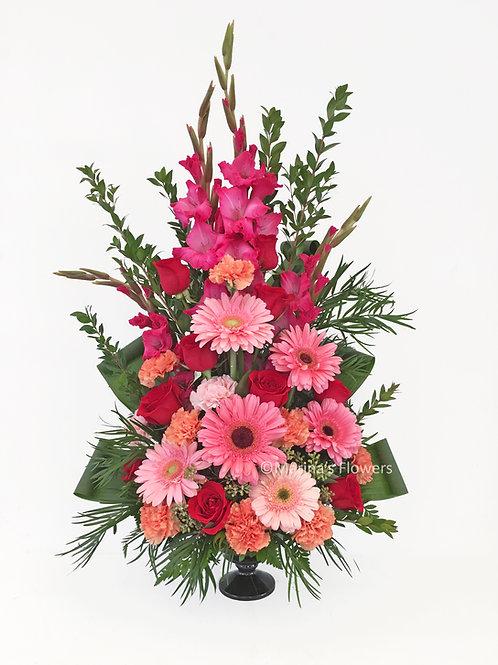 Pink Gerbera Arrangement