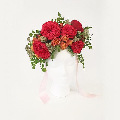 Garden Roses Flower Crown