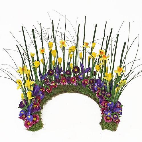 Daffodil Urn Arrangement