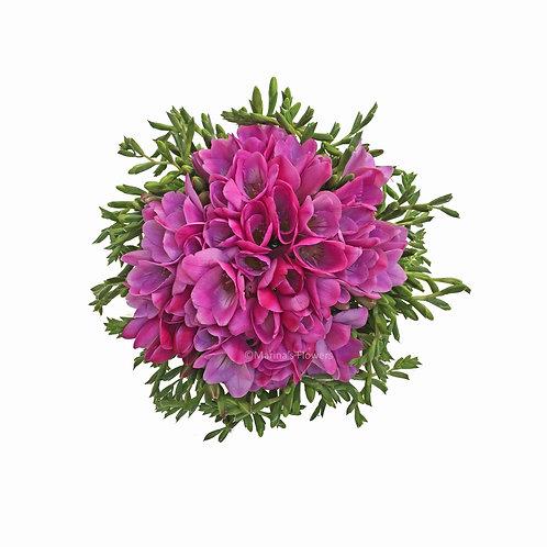Freesia Bridal Bouquet